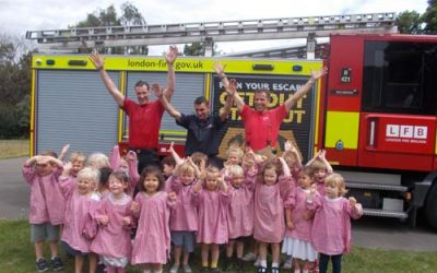 A visit from the Fire Brigade