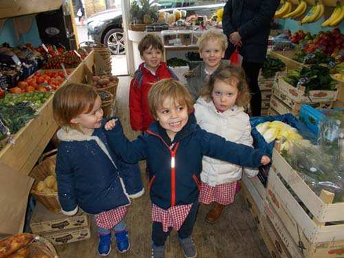 A visit to the greengrocers
