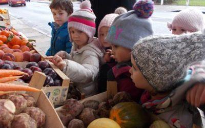 Visit to the Fruit & Veg Shop