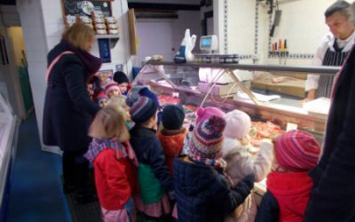 Big Class visit to the butcher